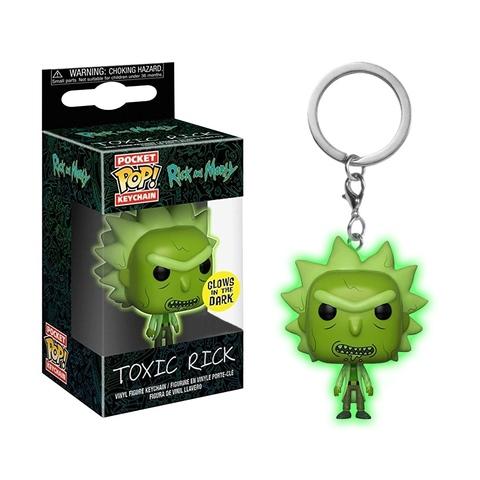 Брелок Токсичный Рик || POP! Keychain Toxic Rick