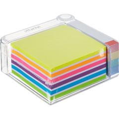 Набор Attache Selection в диспенсере (стикеры 76x76 мм 6 цветов, бумажные закладки 76x14 мм 4 цвета)