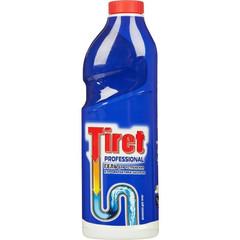 Средство для прочистки труб TIRET гель 1л 12шт/уп.