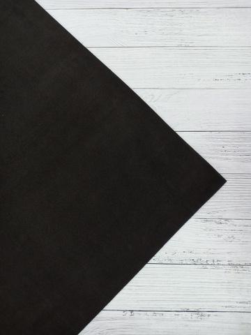 Фоамиран 2мм50х50см  пр.Китай черный (06)