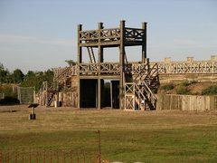 Римский каструм - лестница от Армарика - деревянный конструктор, сборная модель, 3D пазл