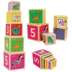 Toys Lab Деревянные кубики