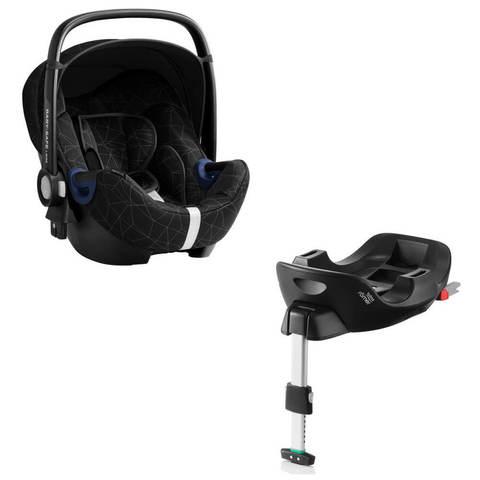 Автокресло Britax Roemer Baby-Safe2 i-Size Crystal Black + Base Flex Isofix