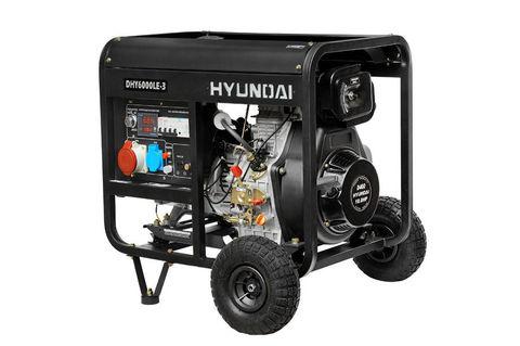 Кожух для дизельного генератора HYUNDAI DHY 6000LE