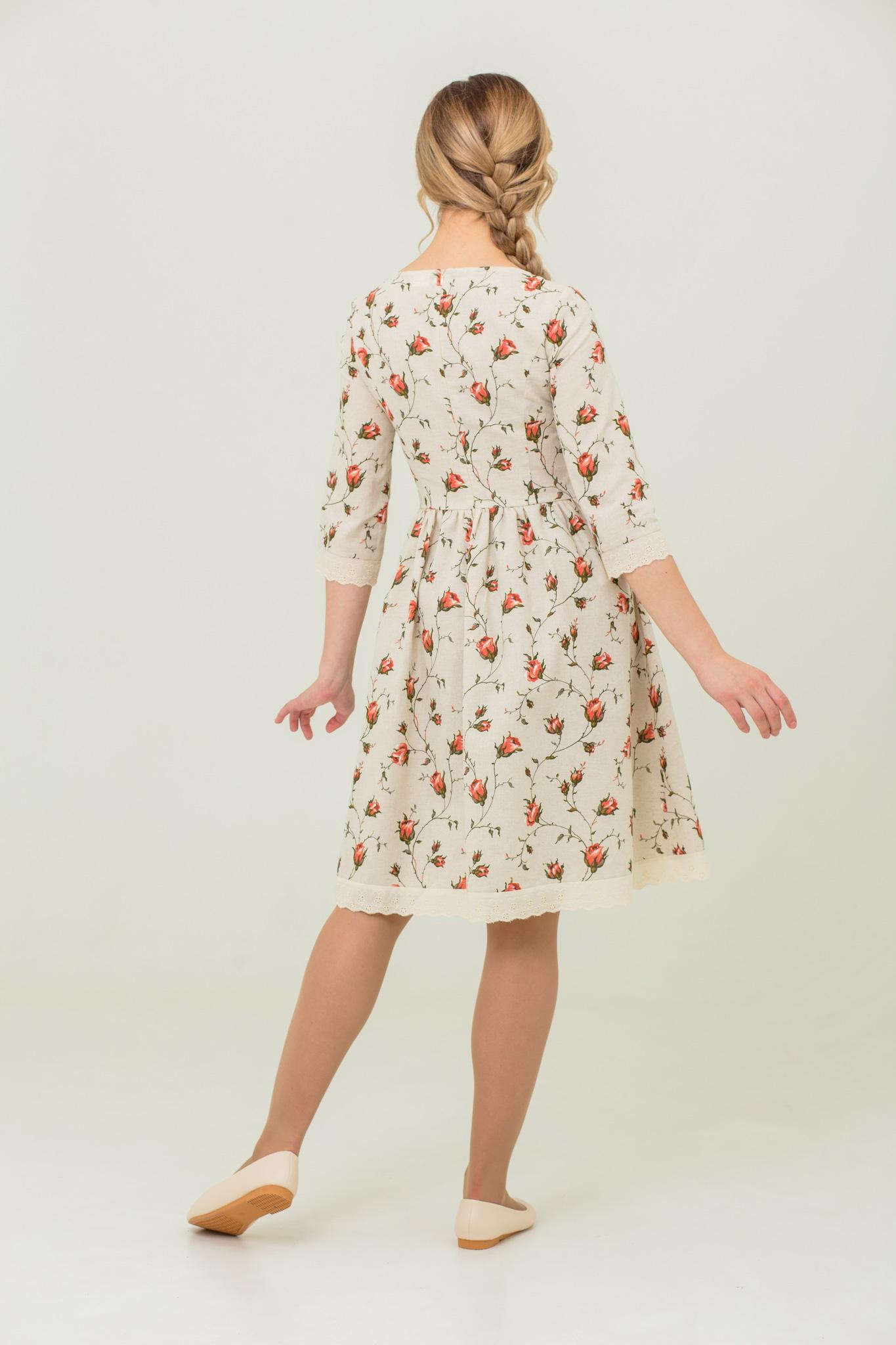Платье Мрия в русском стиле купить с доставкой