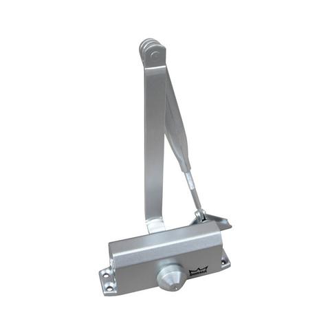 Доводчик Dormakaba TS Nano с рыч.тягой, до 45 кг, серый (8010055)