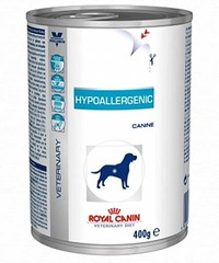 Royal Canin Hypoallergenic can dog