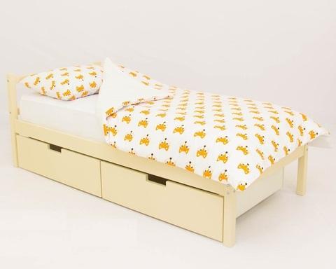 Кровать SKOGEN бежевый