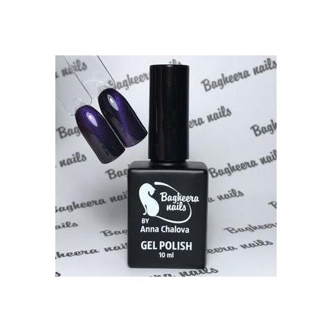 Bagheera Nails BN-79 Кошачий глаз 3D фиолетовый гель-лак 10 мл