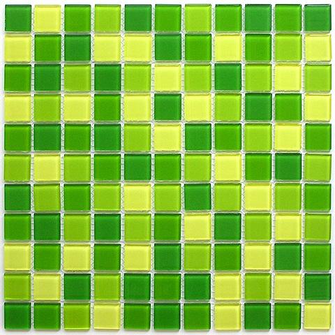 Мозаика стеклянная Bonaparte Apple mix 30x30 см (чип: 25x25x4 мм) (шт.)