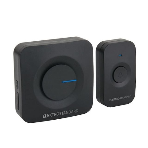 Звонок беспроводной. Цвет Чёрный. Elektrostandard. DBQ23M WL 52M IP44. a045577