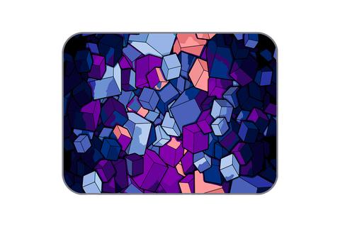 Плюшевый коврик 150х200 см (Cube)
