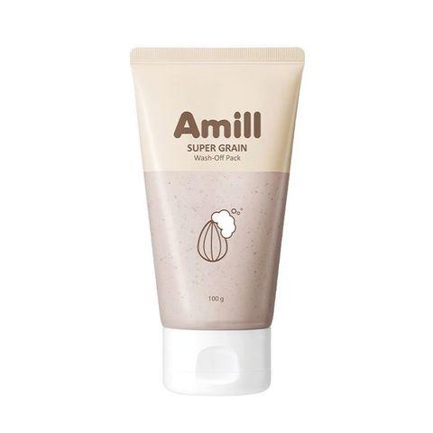 Amill Super Grain Wash-Off Pack глиняная маска с зерновыми экстрактами