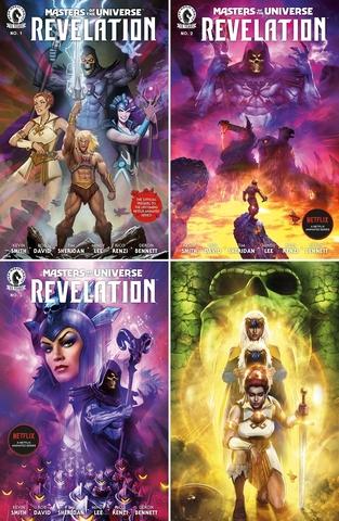 Властелины Вселенной. Откровение №1-4 (комплект)