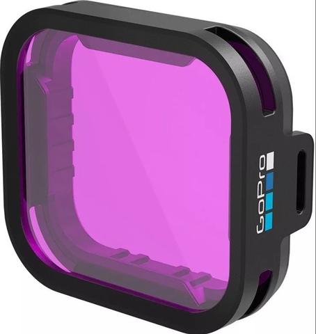 Green Water Dive Filter - Пурпурный фильтр Hero 5/6