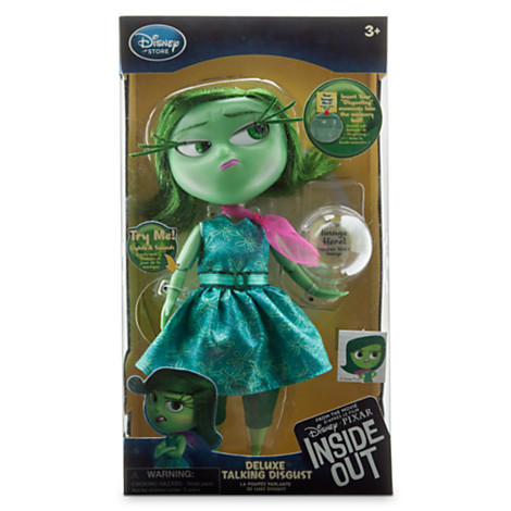 Inside Out — Deluxe Talking Doll 9'' Disgust