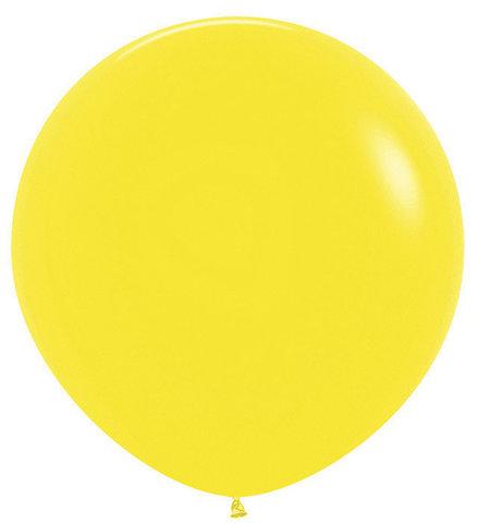 Шар (30''/76 см) Желтый (020), пастель
