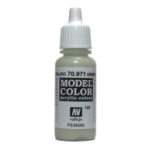 Model Color Green Pale Grey 17 ml.