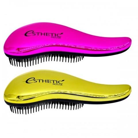 Esthetic House Расческа для волос Hair Brush золотая