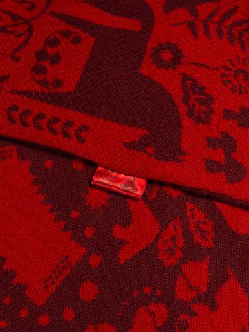 Красная Горка – бордовые тона № 6.3 (С бахромой)