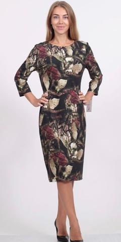 Платье Kerio 8410 листья