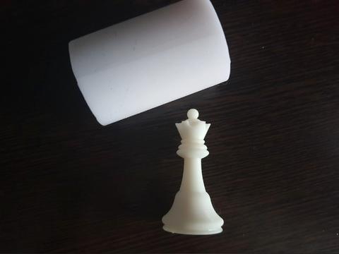 Силиконовый молд Шахматная фигура № 4    классика