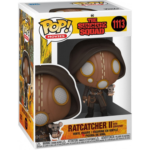 Фигурка Funko POP! Movies The Suicide Squad Ratcatcher II w/Sebastian 56018