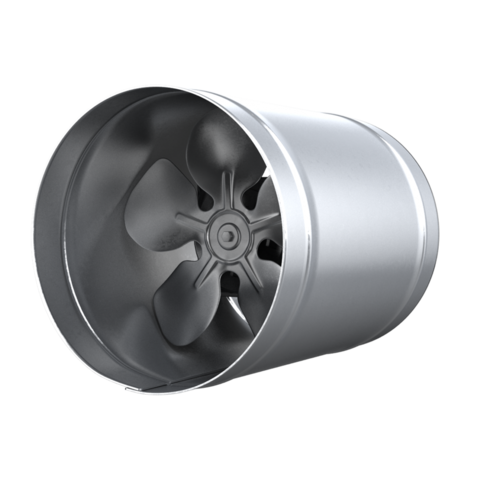 Канальный осевой вентилятор d300 (1000м3/ч) Эра CV-300