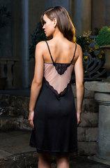 Сорочка миди Mia-Mia черная