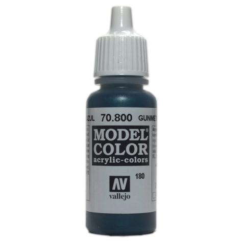 Model Color Gunmetal Blue 17 ml.