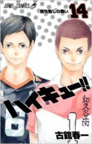 Haikyuu!! vol.14 (Japan Edition)