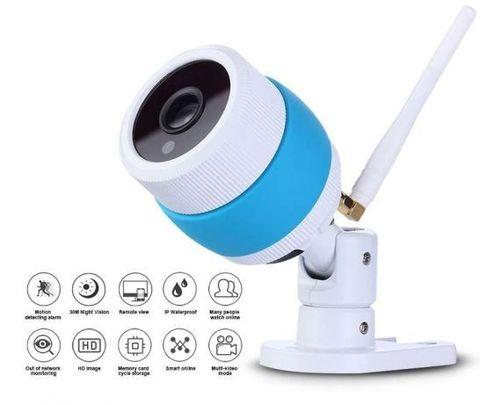 Беспроводная камера наблюдения с записью на карту памяти и ночной съемкой  CCTV 7010 Wi-Fi DVR HD