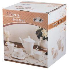 Чайный сервиз из фарфора на 6 персон