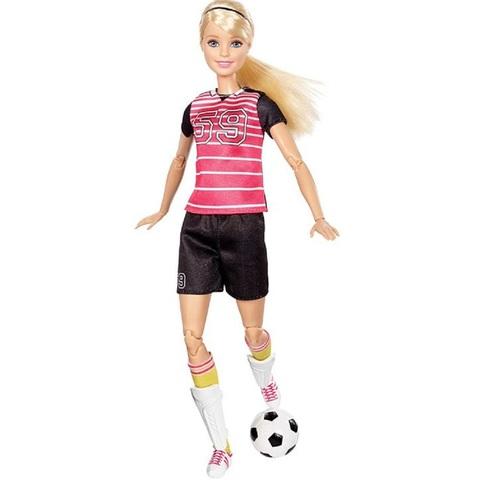 Барби Футболистка. Безграничные движения