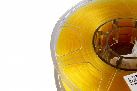 ESUN PLA 1.75 мм 1кг., прозрачно-желтый