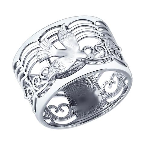 94012184 - Кольцо из серебра