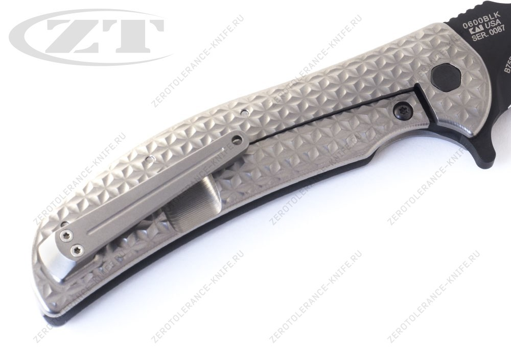 Нож Zero Tolerance 0600Blk Rj Martin - фотография