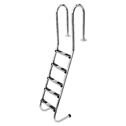 Лестница Aquaviva MUS-515 (5 ступ.) для облегченного спуска / 15816