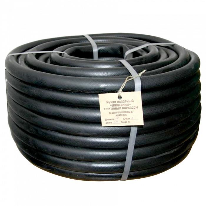 Шланг поливочный резиновый кордовый рукав 12мм, 50м