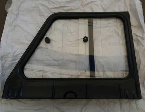 Надставка двери УАЗ 469 Хантер задняя правая в сборе (раздвижные стекла)