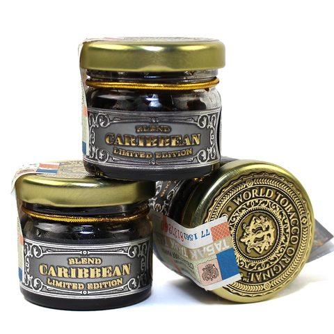 Табак для кальяна WTO Caribbean blend Lychee-Strawberries 20 гр