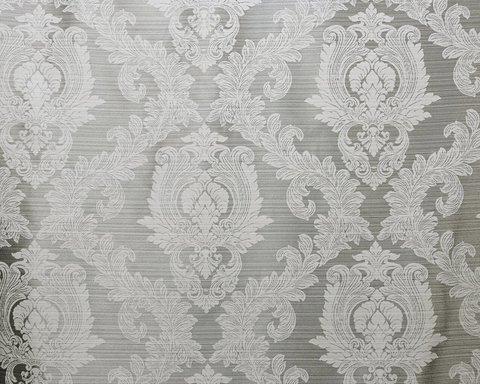 Портьерная ткань жаккард Вероника серый