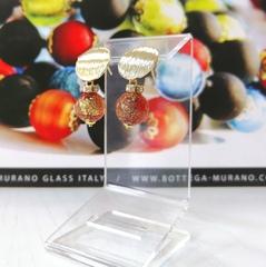 Серьги 2019 Perla Metallo Rotondo Grande Ca'D'oro 456O