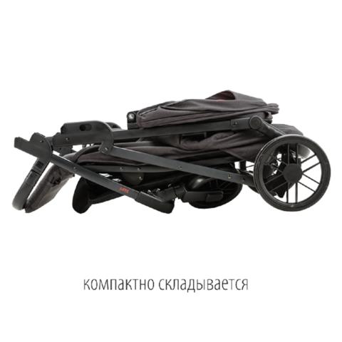 Прогулочная коляска QUATRO NANI - Graphite (Тёмно-серый)