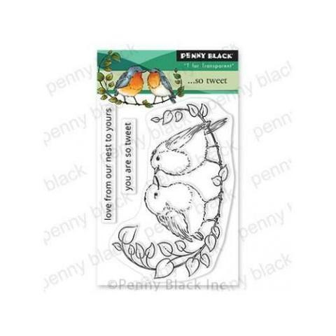Набор штампов Penny Black Clear Stamps ...So Tweet