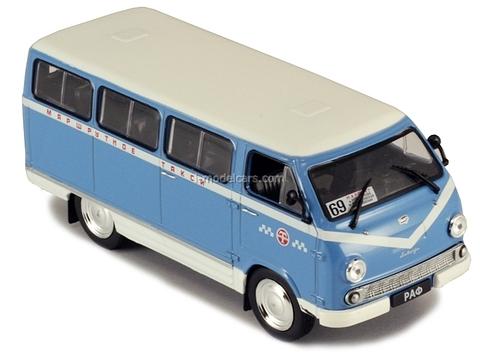 RAF-977DM Taxi Route Minibus USSR 1:43 DeAgostini Service Vehicle #28