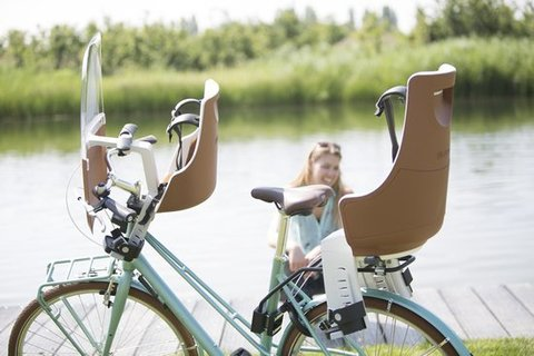 Картинка велокресло Bobike Exclusive maxi safari chic - 4