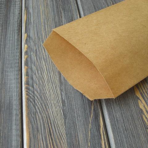 Крафт-конверт без клапана (100*190мм)