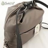 Сумка Саломея 387 итальянская бронза + черный (рюкзак)