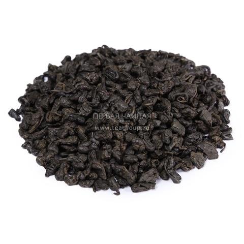 Чай зеленый китайский Ганпаудер (Порох), 100г